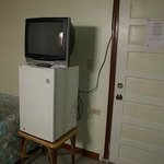 TV and Refrigerator