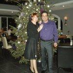 Aan de kerstboom