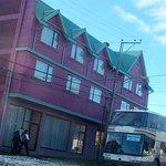 Fachada Hotel Saltos del Paine