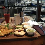 Lunch by the marina @Bascule - Didn't expect tapas portions to be so large.... or so affordable