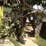 main entryway to the beach