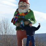 Nearby - World's largest gnome!