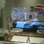 bagno tv specchio
