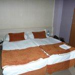 Bett, nach der Reinigung