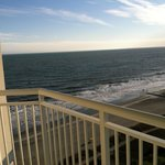 View of ocean from the 16th floor
