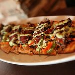 Ahi Tuna Flat-bread