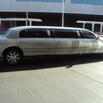 The limo ride that takes you to and from airport