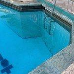 pool looking sad