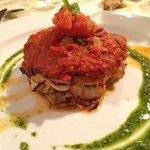 Parmigiana con pescespada