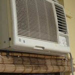 A/C with fungus, dust and missing parts