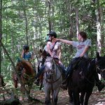 Trail Ride at Patriot Farm at the Grand View