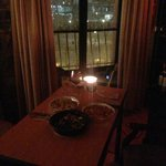 we had NYE dinner in, and watched fireworks out our window!