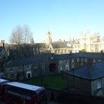 Londres avec un ciel bleu le 1er janvier 2013