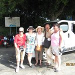 8 Tourists and the Van, with wireless