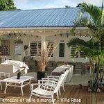 Terrasse & salle à manger