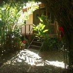 Entrada a Casa Bamboo