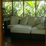 Área de descanso Casa Bamboo