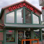 "Shuckums--""We shuckum - you suckum"""