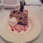 Dessert...Mud Pie...too much to eat alone...i recommend a split.
