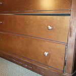 Damaged dresser in 815