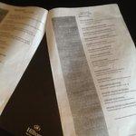 The classy room service menu.