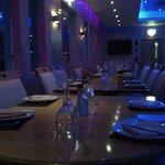 The elegant main dining room