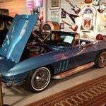 Blue Corvette hmmmm