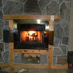 The Beautiful Fire place with FREE firewood