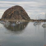 our view from the Morro Rock Suite