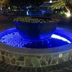 Fontaine à l'hotel