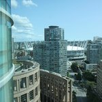 View of BC Place from S. side room