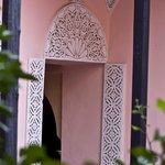 The Morrocan detailing shown throughout the Riad