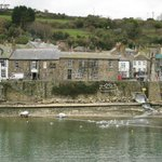 The Ship Inn, Mousehole, from the Old Quay
