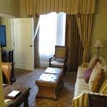 Main living area in suite 11222