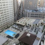 View of the pool from suite 11222