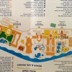 Map of the 3 Iberostar Resorts