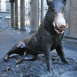 The famous Boar in Florence