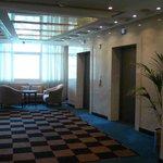 Hall de los pisos de habitaciones