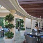 Terraza del restaurant