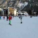 Chamonix snowboard lesson with Gaby