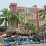 view of resort from the beach