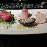 9-course sashimi