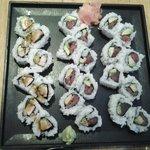 $26 Tuna California rolls + Chicken Teriyaki roll