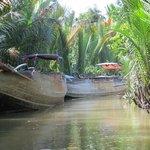 mekong varen door de kanalen