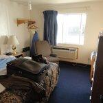 Average room, adequate space