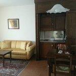 "Living room / kitchenette suite ""Sorano"""