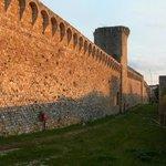 Surrounding ancient wall of Massa Marittima