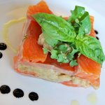 Salmone e Melanzane - Light Lunch