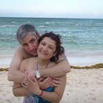 El agua y la arena  blanca es un sueño..!!