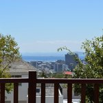 A view of Cape Town from our room